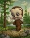 California Brown Bear 2007 Limited Edition Print by Mark Ryden - 0