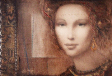 Pompaea 2007 23x19 Original Painting by Csaba Markus