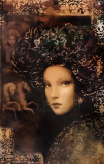 Uliana's Dream 2000 Embellished Limited Edition Print by Csaba Markus