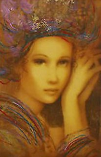 Aphrodite, Phoenia, And Electra Palais, Set of 3   2007 Embellished Limited Edition Print by Csaba Markus
