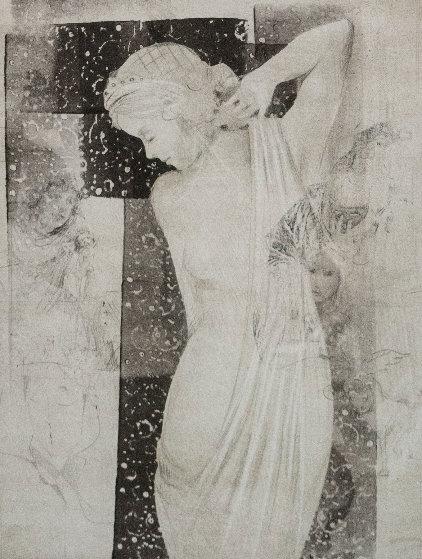 Hellenistic Love Unique   2006 28x24 Works on Paper (not prints) by Csaba Markus
