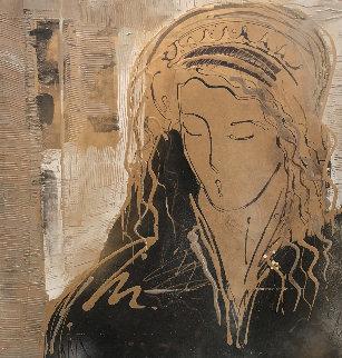 Elisava 30x30 Original Painting - Csaba Markus
