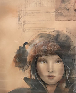 Aelia 31x27 Works on Paper (not prints) - Csaba Markus