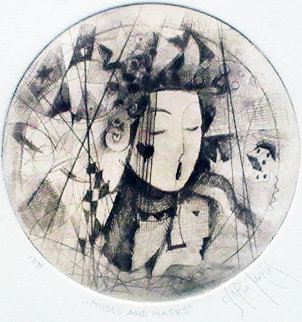 Muses And Masks 2005 Limited Edition Print - Csaba Markus