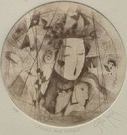 Muses And Masks 2005 Limited Edition Print by Csaba Markus - 1