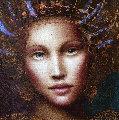 Muse of Spring 2010 18x20 Original Painting - Csaba Markus