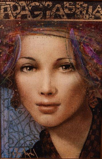 Adagia Bella 2012 18x15 Original Painting by Csaba Markus