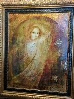 Adoration of Beauty 2000 36x30 Original Painting by Csaba Markus - 1