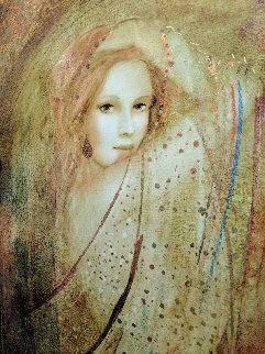 Adoration of Beauty 2000 36x30 Original Painting - Csaba Markus