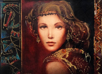 Vermillia 2017 Embellished Limited Edition Print by Csaba Markus