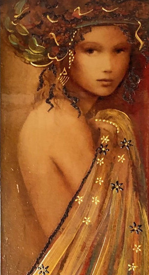 Woman of Spring 2016 Embellished Limited Edition Print by Csaba Markus