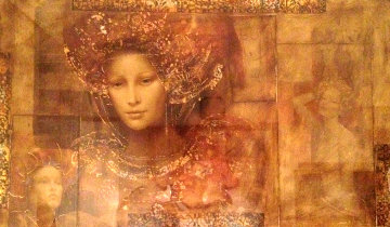Love Dances 52x76 Original Painting - Csaba Markus