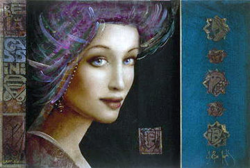 Bella Cassina 2014 Embellished Limited Edition Print by Csaba Markus