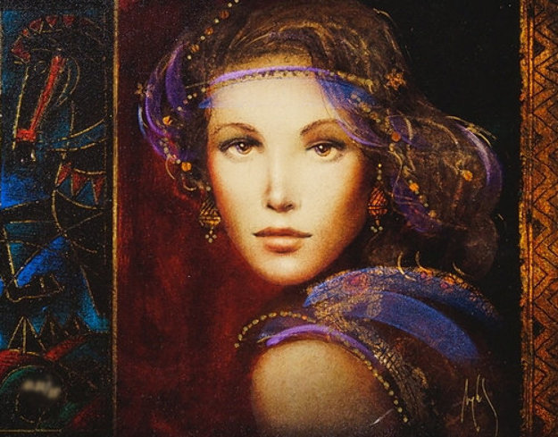Vermillia AP 2017 Embellished Limited Edition Print by Csaba Markus