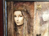 Prophesy of Passion  Triptych  2007 26x32 Original Painting by Csaba Markus - 2