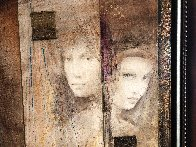 Prophesy of Passion  Triptych  2007 26x32 Original Painting by Csaba Markus - 3