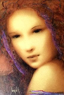 Beau Lydia 2006 Embellished on Panel Limited Edition Print - Csaba Markus