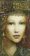 Katarinya AP 2014 Embellished Limited Edition Print by Csaba Markus - 4