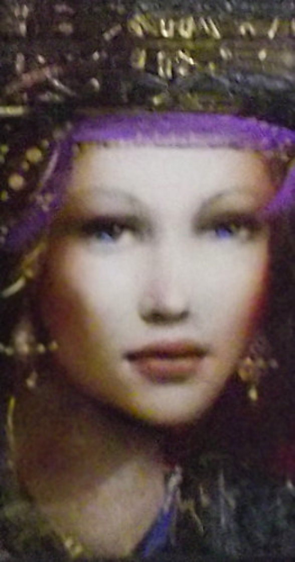 Katarinya AP 2014 Embellished Limited Edition Print by Csaba Markus