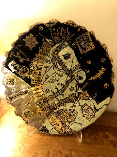 Imperial Glass Bowl 2003 24 in Sculpture - Csaba Markus
