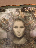 Thebian Thoughts 43x39 Super Huge Original Painting by Csaba Markus - 3