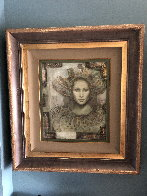 Thebian Thoughts 43x39 Super Huge Original Painting by Csaba Markus - 1