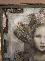 Thebian Thoughts 43x39 Super Huge Original Painting by Csaba Markus - 2