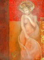 Modesta 21x17 Original Painting by Csaba Markus - 0