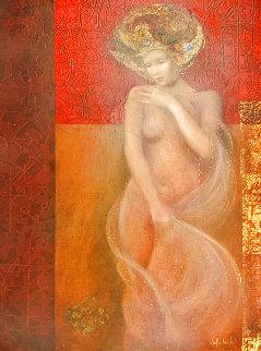 Modesta 21x17 Original Painting - Csaba Markus