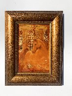 Golden Steed Limited Edition Print by Csaba Markus - 1