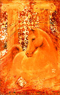 Golden Steed Limited Edition Print by Csaba Markus - 0