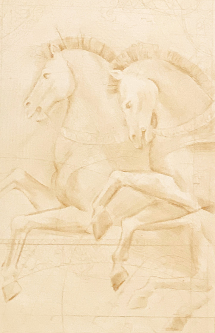Majestic Chargers 1997 Limited Edition Print by Csaba Markus