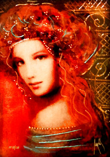 Woman of the Spring PP 2016 Embellished Limited Edition Print - Csaba Markus