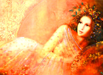 Waiting 2005 Embellished  Limited Edition Print - Csaba Markus