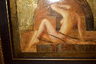 Annabella 1999 35x38 Super Huge Original Painting by Csaba Markus - 5