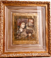 Untitled Painting 57x53 Huge Limited Edition Print by Csaba Markus - 1