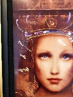 Semper Anemus 2017 Embellished on Wood Limited Edition Print by Csaba Markus - 2