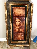 Semper Anemus 2017 Embellished on Wood Limited Edition Print by Csaba Markus - 1