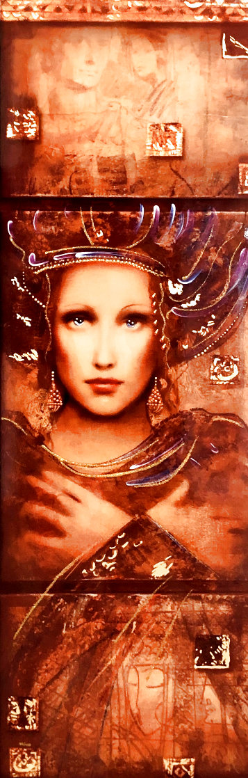 Semper Anemus 2017 Embellished on Wood Limited Edition Print by Csaba Markus