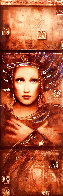 Semper Anemus 2017 Embellished on Wood Limited Edition Print by Csaba Markus - 0