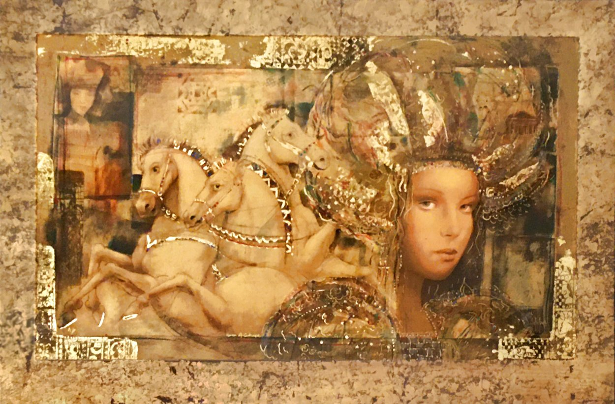 Horses of Carthage 1998 AP Limited Edition Print by Csaba Markus