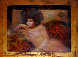 Distant Thoughts 1997 22x28 Original Painting by Csaba Markus - 1