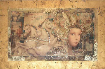 Horses of Carthage AP 1998 Limited Edition Print - Csaba Markus