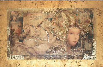 Horses of Carthage 1998 Limited Edition Print by Csaba Markus