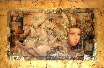 Horses of Carthage 1998 Limited Edition Print - Csaba Markus