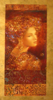 Constantine Embellished Limited Edition Print - Csaba Markus