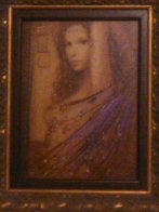 La Femme Suite of 4 Embellished Serigraphs on Wood Panel 2006 Limited Edition Print by Csaba Markus - 5