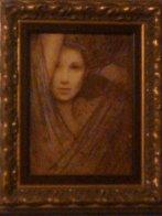 La Femme Suite of 4 Embellished Serigraphs on Wood Panel 2006 Limited Edition Print by Csaba Markus - 7