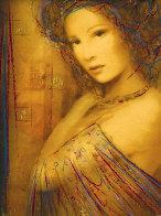 La Femme Suite of 4 Embellished Serigraphs on Wood Panel 2006 Limited Edition Print by Csaba Markus - 2