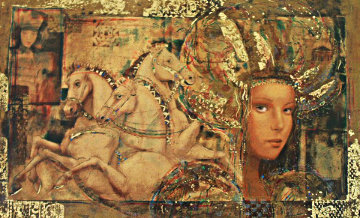 Horses of Carthage PP 1998 Limited Edition Print by Csaba Markus
